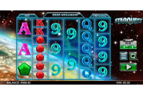 Starquest MEGAWAYS Slot Machine Online ᐈ Big Time Gaming ...