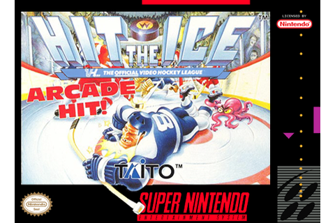 SNES A Day 152: Hit the Ice - SNES A Day