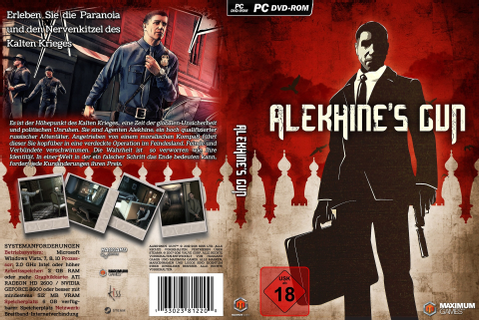 Alekhine's Gun PC Box Art Cover by AHO