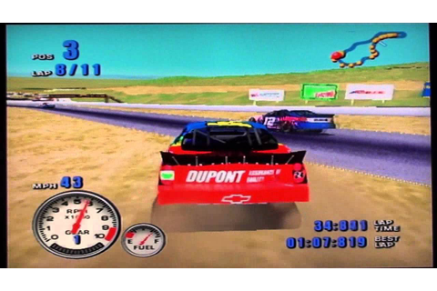 NASCAR 2001 - Race 10/20 - Save Mart/Kragen 350K - YouTube