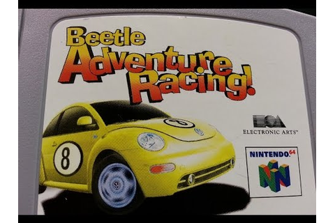Classic Game Room - BEETLE ADVENTURE RACING review for N64 ...