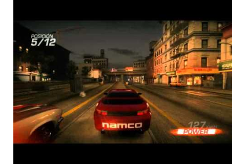 Ridge Racer Unbounded - Gameplay - YouTube