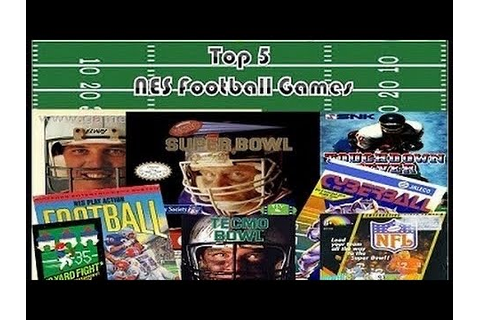 DBPG: Top 5 NES Football Games - YouTube