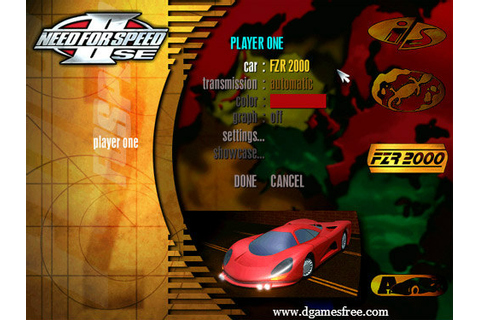 Free Cracked Files: Download Need For Speed 2 SE Full ...