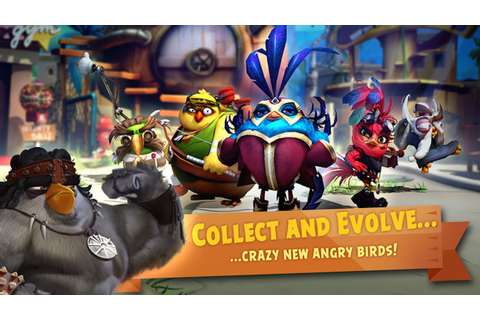 ANGRY BIRDS EVOLUTION | Team Up To Battle The Pigs | iOS ...