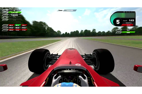 Ferrari Virtual Academy 2010 - YouTube