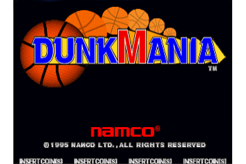 Dunk Mania (1995) by Namco Arcade game
