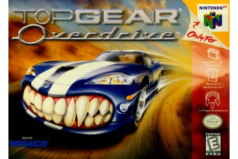 Top Gear Overdrive (USA) ROM