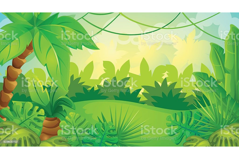 Cartoon Jungle Game Background Stock Vector Art & More ...