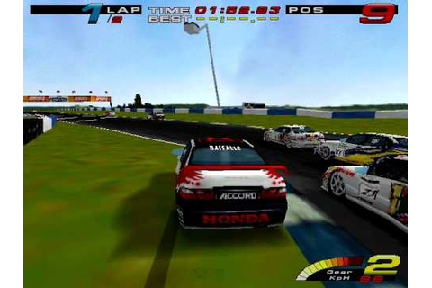 Toca Touring Car Championship Gameplay PC - YouTube