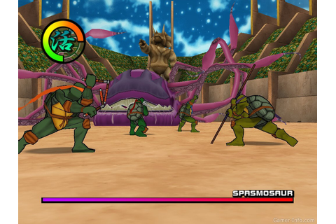 Teenage Mutant Ninja Turtles 2: Battle Nexus (2004 video game)