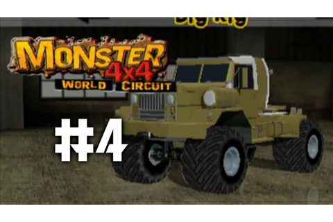 Monster 4X4 World Circuit Ep. 4 - Manual Saving - YouTube