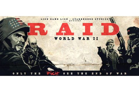 "Starbreeze invests 8 MUSD in publishing ""RAID: World War ..."