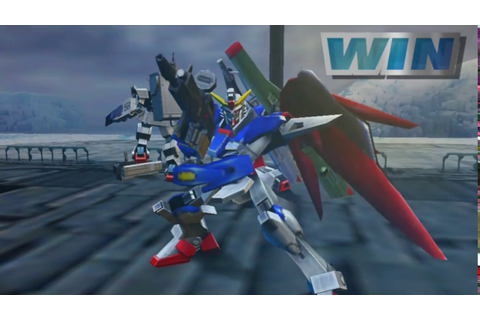 Gundam VS Gundam NEXT Plus Destiny Gundam Gameplay PC EXVS ...