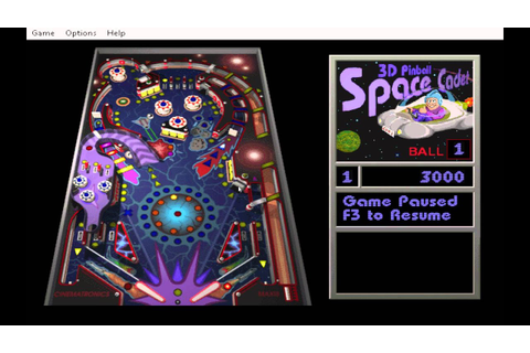 Classic Space Cadet Pinball game for Windows 10 - YouTube