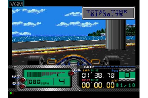 Formula One World Championship - Beyond the Limit for Sega ...