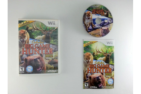 Cabela's Big Game Hunter 2012 game for Wii (Complete ...