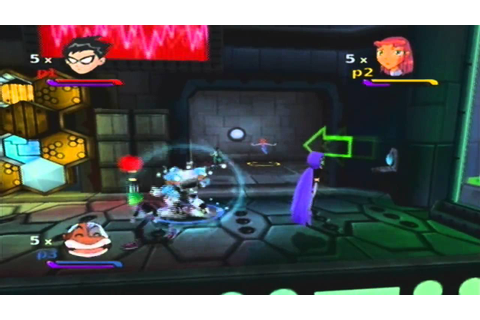 Teen Titans Walkthrough (Gamecube) - Mission 1: Titan ...