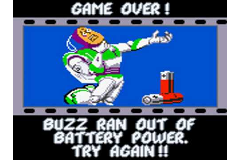 Toy Story 2 Game Over GBC - YouTube