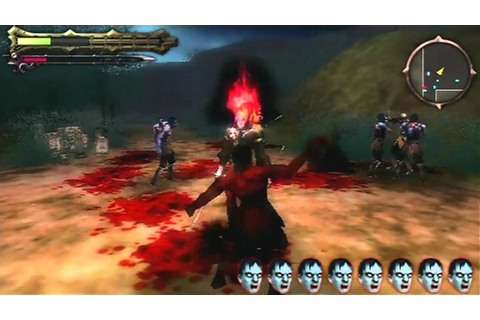 Undead Knights Game Sample - PSP - YouTube