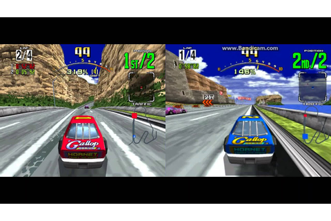 Daytona USA - 2 Player LAN game (Model 2 Emulator ...