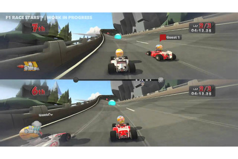 F1 Race Stars - Gameplay - First Look (HD) - YouTube