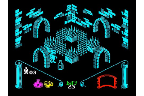 Knight Lore (Graphics Mod) Walkthrough, ZX Spectrum - YouTube