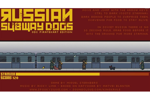 Russian Subway Dogs - free game | fullgames.sk