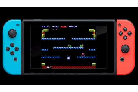 Nintendo Will Release Its Classic Arcade Games On Switch ...