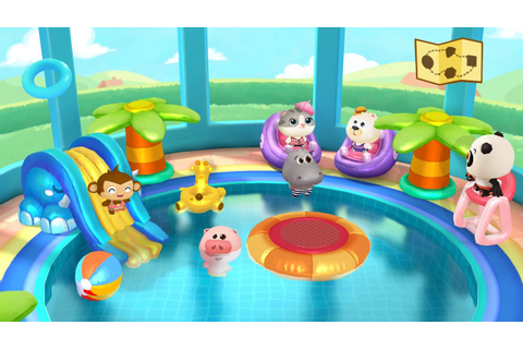 Dr. Panda's Swimming Pool - Game for Kids, iOS, Android ...