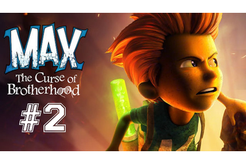 Max - The Curse of Brotherhood . part 2 - YouTube