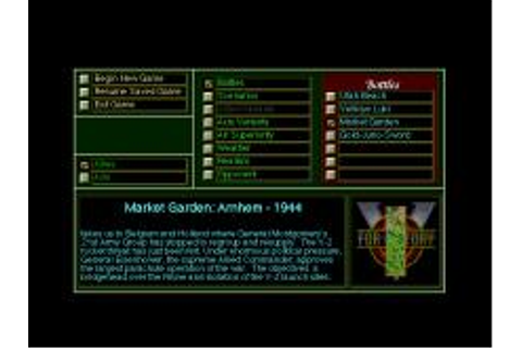V for Victory: Market Garden Download (1993 Strategy Game)