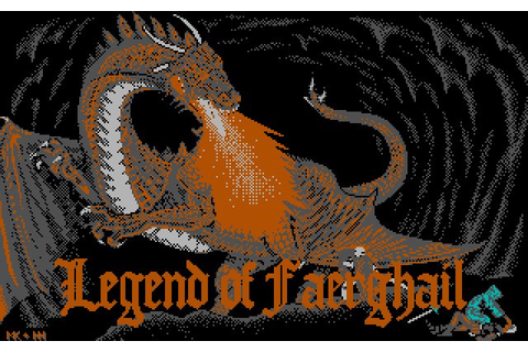 Download Legend of Faerghail rpg for DOS (1990 ...