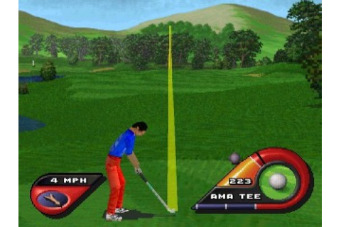 Actua Golf 2 (1997) by Gremlin Graphics PS game