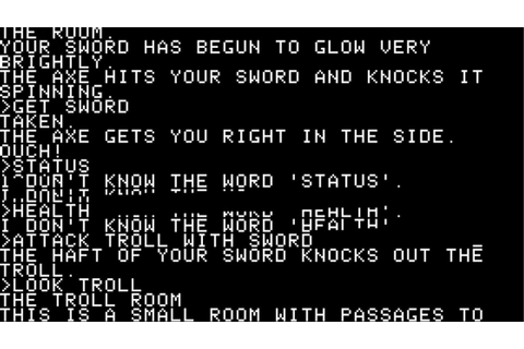 Zork: The Great Underground Empire (1980, Infocom ...
