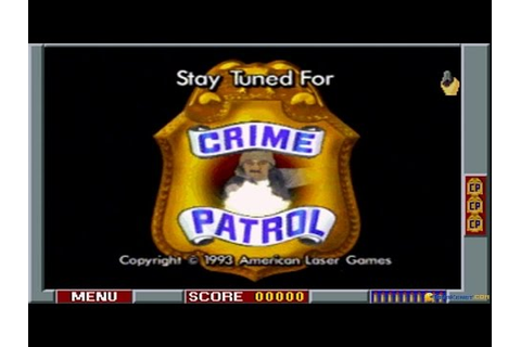 Crime Patrol gameplay (PC Game, 1994) - YouTube