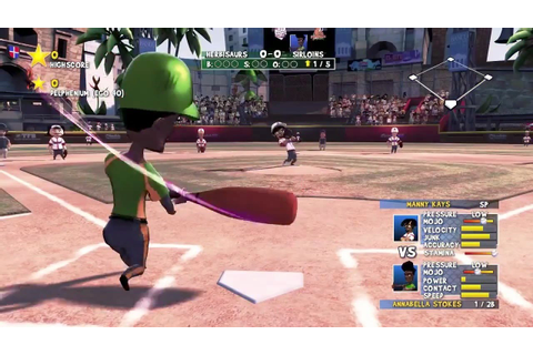 Super Mega Baseball Gameplay Trailer - YouTube