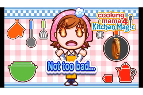 Cooking Mama 4: Kitchen Magic | Citra Emulator (CPU JIT ...
