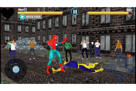 Spider Hero Street Fight | Superhero City Fighting Games ...