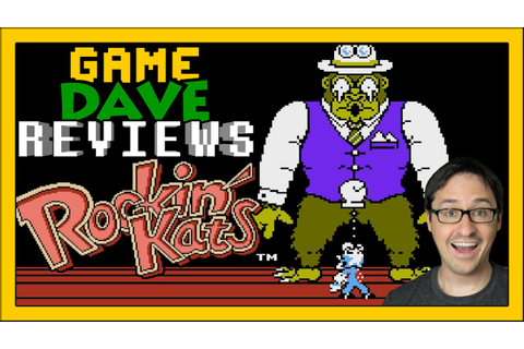 Rockin' Kats NES Review | Game Dave - YouTube
