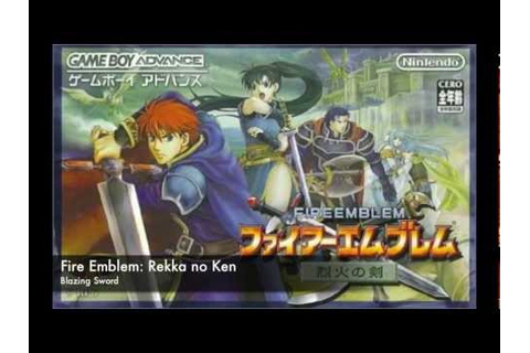 Fire Emblem: Rekka no Ken - Blazing Sword Main Theme - YouTube