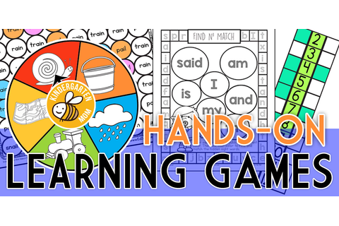 Printable Learning Games & Activities - Kindergarten Mom