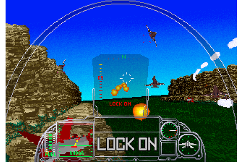G-Loc: Air Battle (1990) by Sega AM2 Arcade game