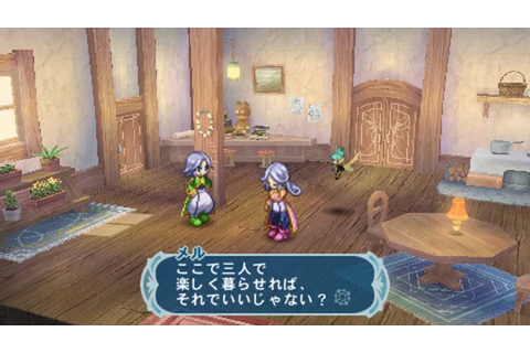 [HD] [PSP] Tales of Phantasia: Narikiri Dungeon X ...