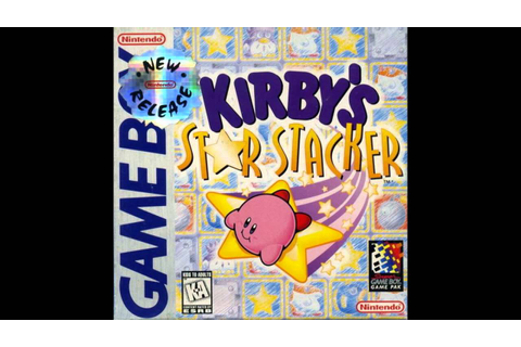 Kirby Star Stacker - Challenge Game - YouTube