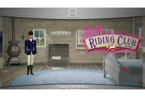 Barbie Riding Club (part 8) (Horse Game) - YouTube