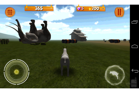 Google promotes goat simulator games for Android