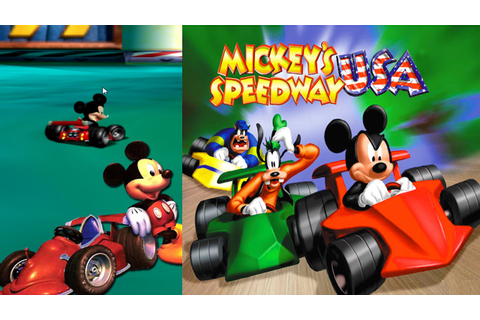 Mickey's Speedway USA - 5 Races Gameplay N64 HD - YouTube
