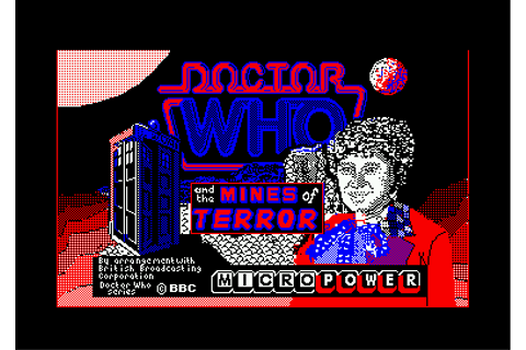 Doctor Who and the Mines of Terror Screenshots for Amstrad ...