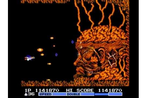 Gradius 2 (Nes) Final Boss Gofer + Ending - YouTube